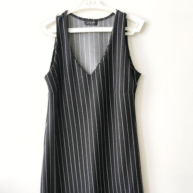 Topshop Mid Length Dress