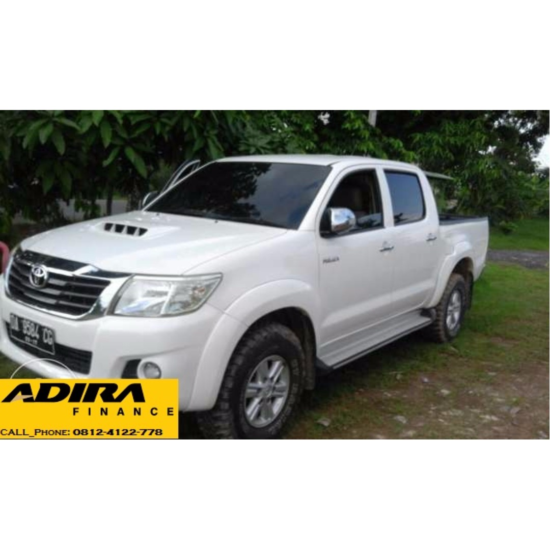 toyota hilux g 2.5 double cabin 2012, mobil & motor, mobil untuk