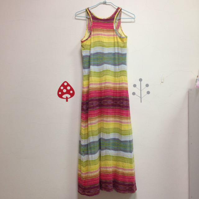 Uniqlo 洋裝_彩虹 #好物任你換 #手滑買太多  #我的女裝可超取