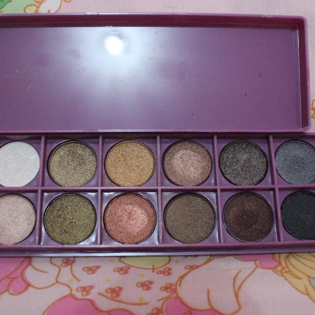 Urban Decay palsu (Naked Basic) 12 Colors Shimmer Eyeshadow