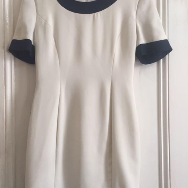 VINTAGE Chanel Inspired Dress