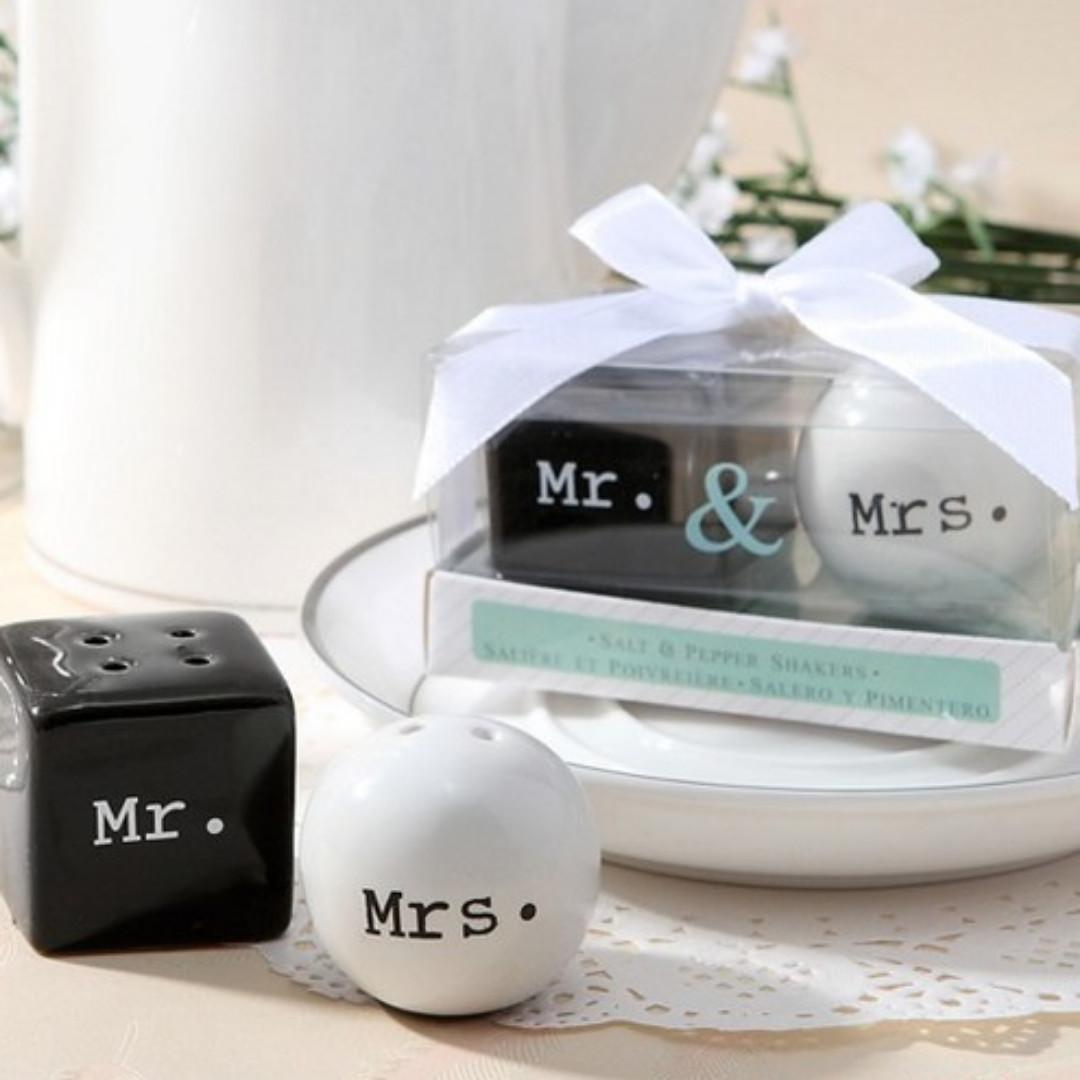 Wedding Favors Salt And Pepper Shaker Design Craft Others On