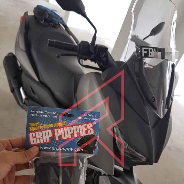 YAMAHA XMAX - Authentic Grip Puppies (From UK) for Sale