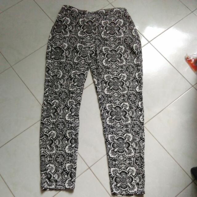 Zara Print Pants