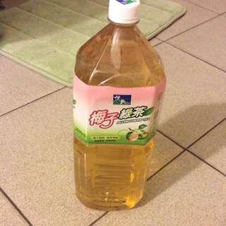 梅子綠茶2200毫升