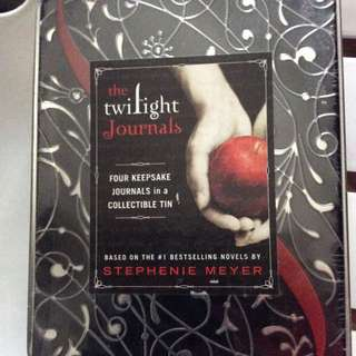 Twilight Journal set With Collectible Tin