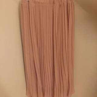 Pleats Chiffon Skirt