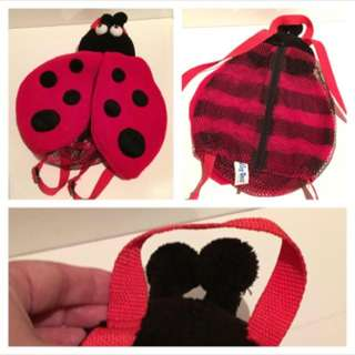 Lady Bug Backpack - In Like NEW Condition