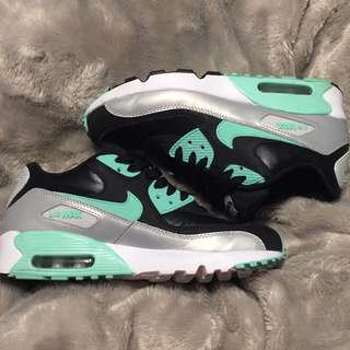 "Nike Air Max 90 - ""Mint Green/Black Leather"""