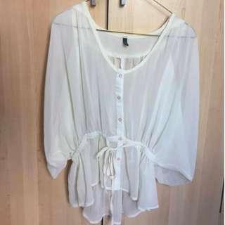 White blouse -No size