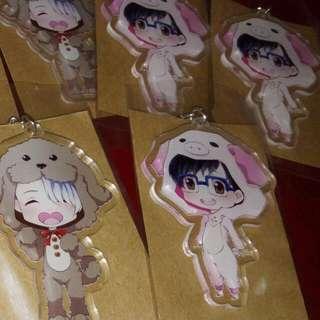 Acrylic Keychains: Yuri On Ice (Yuri Katsuki)