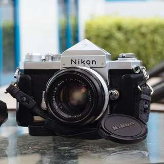 Nikon F Eyelevel + Nikkor SC 50mm f/1.4