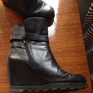 Hogl Wedge Boots