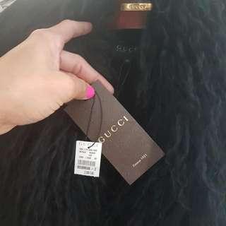 Authentic Gucci Lamb Fur Vest