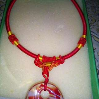 Fashionable Red Necklace