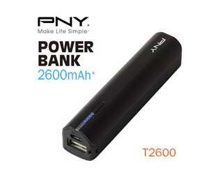 PNY (T2600) 2600mAh Universal Rechargeable Battery Bank