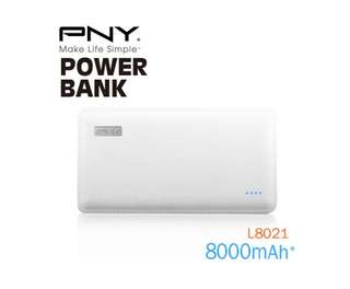 PNY (L8021) 8000mAh PowerPack Universal Rechargeable