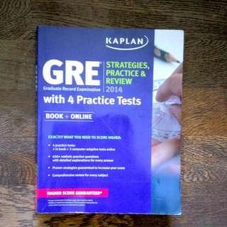 GRE 美國 考試書 考題Kaplan