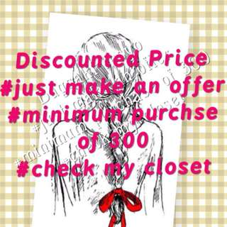 Discounted Prices