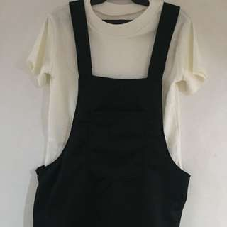 Jumper dress With Top (New)