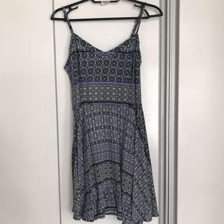 Aeropostale Printed Mini Dress