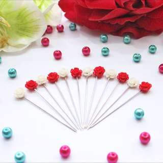 Rose Hijab Pins