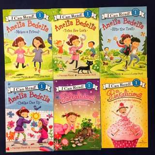 Amelia Bedelia Pinkalicious I Can Read Level One