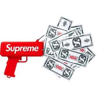 🚚 現貨 電動 鈔票槍 附玩具鈔 鈔票滿天飛 發鈔槍 玩具槍 派對 開幕道具 噴錢槍