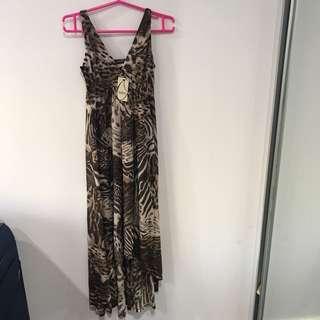 BNWT OASIS leopard Print Dress UK XS