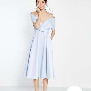 [BNWT] Pomelo Off shoulder Midi Dress