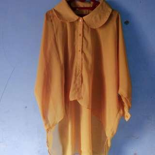 Yellow Top Chiffon