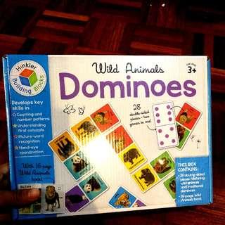 ❤ (BN) Dominoes Wild Animals (Hinkler Building Blocks Brand)