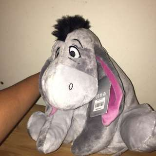 Disney Eeyore Teddy Bear Plushie