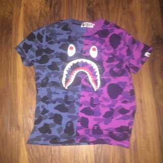 Bathing Ape (BAPE) Split Camo Youth Tee