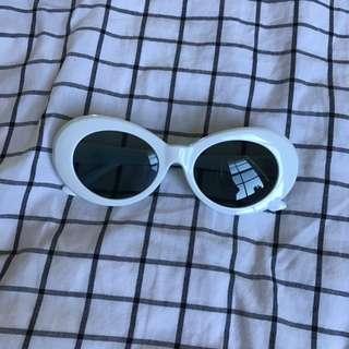 Vintage Kurt Cobain Round Sunglasses