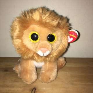 Lion Beanie Boo Plushie