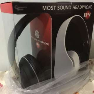 New 全新日本Most Sound Headphone