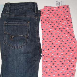 BNWT Target & Miss Understood Girls Jeans & Leggings Size 7
