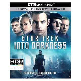 🆕 Star Trek into Darkness 4K UHD + Blu Ray
