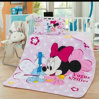 Mickey And Minnie Blanket