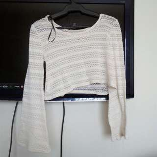 Forever 21 Knitted Croptop