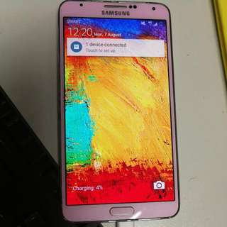 Note 3 Pink