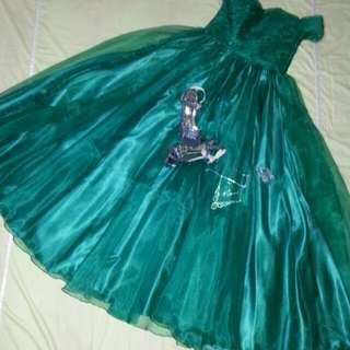 Gown (Emerald Green)