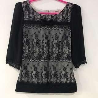 BN REVIEW Lace Blouse AU6