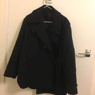 Navy Thick Coat