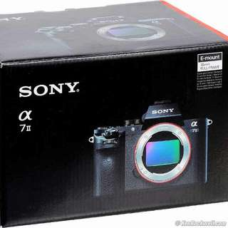 Sony Alpha a7 II Body Only Mirrorless Digital Camera