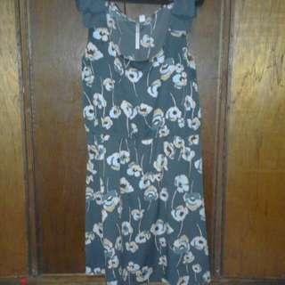 Lauren Conrad Grey Dress (38 or L-XL)