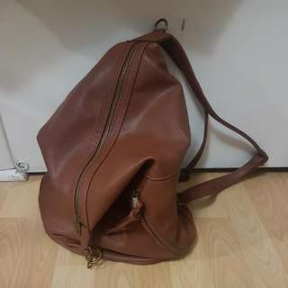 Madden Faux Leather Backpack
