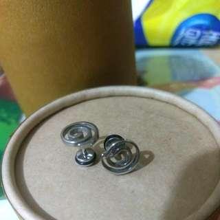 個性圓圈造型耳環
