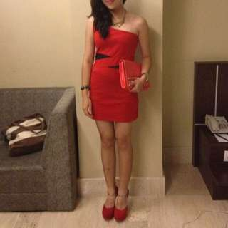 Party Red Dress